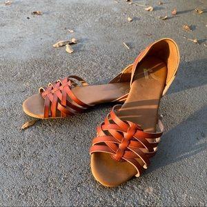 Brown REPORT Sandals